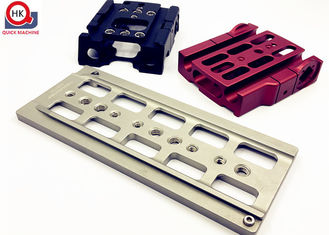Durable Custom Made Aluminum Parts Various Shapes Available Machining / Stamping