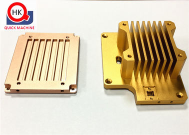 Custom Machined Anodized Aluminum Parts For Computer / Cellphone Industry