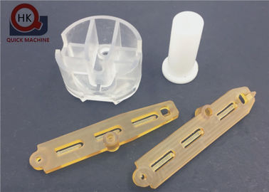 China OEM Precision Machined Plastic Parts Lightweight 0.005 - 0.01mm Tolerance supplier