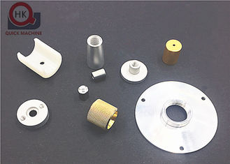 China Lamp Fittings High Precision Machined Parts Dimension 0.03 Inch - 12 Inch supplier
