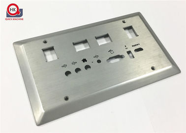 CNC Precision Casting Parts , Laser Cut And Machined Stainless Steel Panels