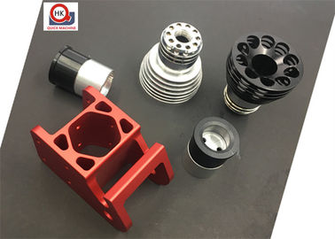 Black Chrome Plated Machined Metal Parts Anodized Turning And Mill Machining