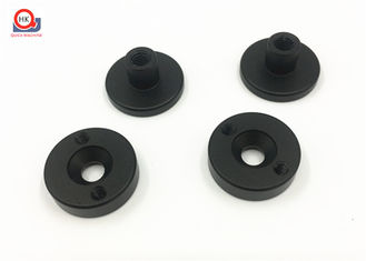 Black Anodized Machining Aluminum Parts High Accuracy + / - 0.01 Mm Tolerance