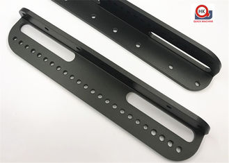 Custom LED Light Components , Battery Brackets Aluminum Angles Extrusion Bars