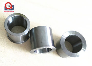 OEM Precision Casting Parts , Motorcycle Axle Reducers , Steel Sleeves Bushing , Thread Ends