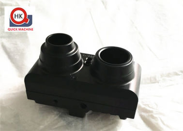 Anodized Die Casting Parts / Sand Machined Camera Housings Machined Lenses
