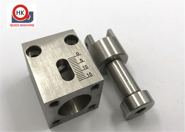 CNC Machining Pumping Blocks Housings , Air Cylinder Bodies Vacuum Pumps